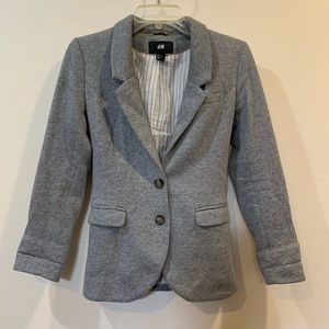 H&M gray woman's blazer